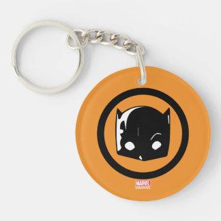 Hellcat Logo Keychain