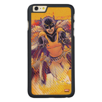 Hellcat Lunge Carved Maple iPhone 6 Plus Case