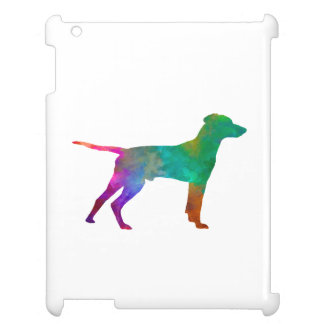 Hellenic Hound in watercolor iPad Cases
