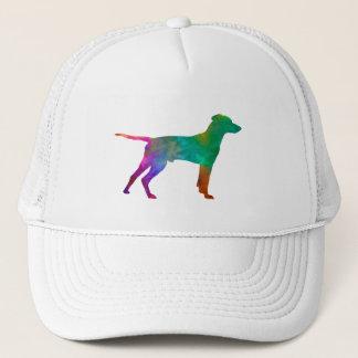 Hellenic Hound in watercolor Trucker Hat