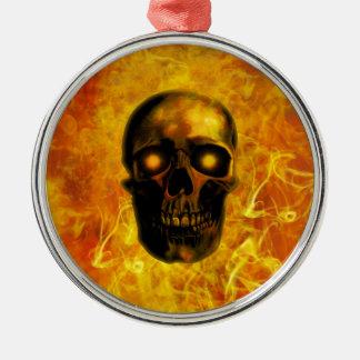 Hellfire Metal Ornament