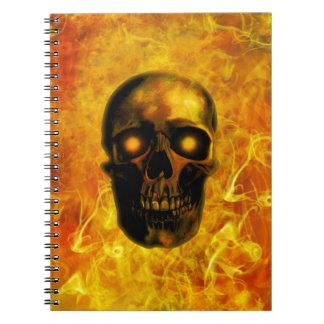 Hellfire Spiral Notebook