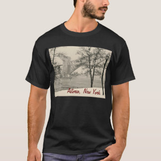 """Hellgate Bridge"" Astoria, NY Men's Tee"