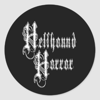 Hellhound Horror Logo Sticker