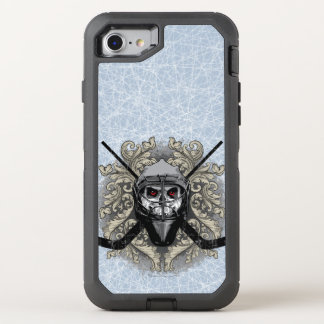 Hellish Hockey Goalie OtterBox Defender iPhone 8/7 Case