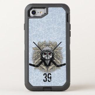 Hellish Hockey Goalie (personalized) OtterBox Defender iPhone 8/7 Case