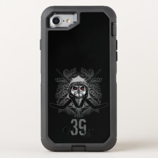 Hellish Hockey Goalie (personalized) OtterBox Defender iPhone 8/7 Case