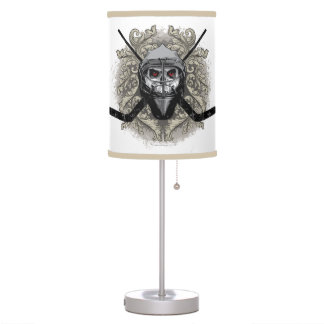 Hellish Hockey Goalie Table Lamp