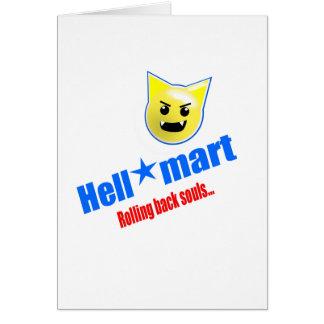 Hellmart Greeting Card