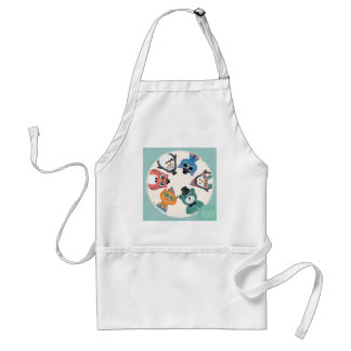 Hello! Animal Friends Circle Standard Apron