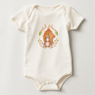 Hello Autumn Baby Bodysuit