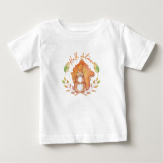 Hello Autumn Baby T-Shirt