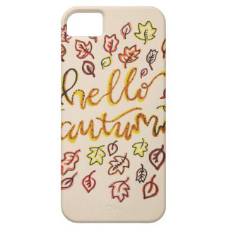 Hello Autumn Case For The iPhone 5