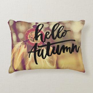 Hello Autumn Decorative Pillow