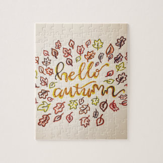 Hello Autumn Jigsaw Puzzle