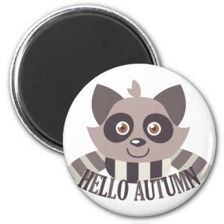 Hello Autumn Magnet
