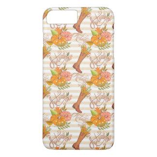 Hello Autumn Pattern iPhone 8 Plus/7 Plus Case