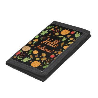 Hello Autumn! Tri-fold Wallets