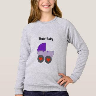 Hello Baby Sweatshirt