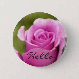 Hello_Button 2 Inch Round Button