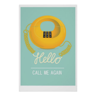 Hello - call me again poster