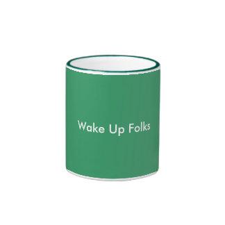 Hello Coffee Breakers , Good Morning Ringer Mug