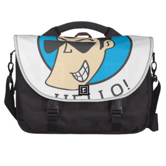 Hello Computer Bag