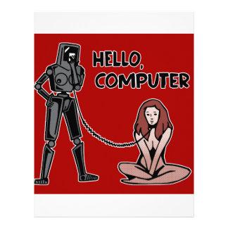 Hello, Computer Letterhead