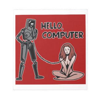 Hello, Computer Notepad
