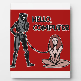 Hello, Computer Plaque