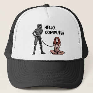 Hello, Computer Trucker Hat