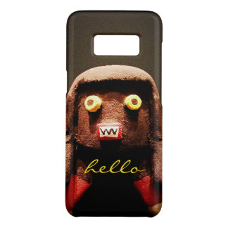 """Hello"" Cute, Funny, Sweet, Odd Face Figure Photo Case-Mate Samsung Galaxy S8 Case"