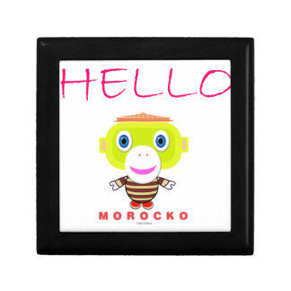 Hello-Cute Monkey-Morocko Gift Box