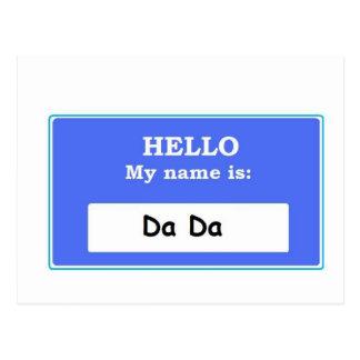 Hello Da Da Postcard
