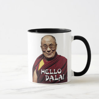 Hello Dalai mug