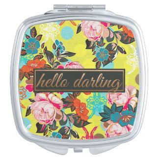 Hello Darling Compact Mirror