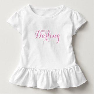 Hello Darling Toddler T-shirt
