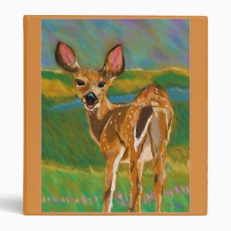 Hello Dear Deer binder