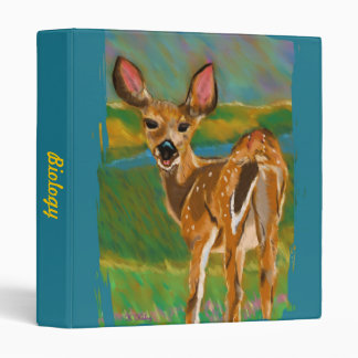 Hello Dear Deer customizable binder