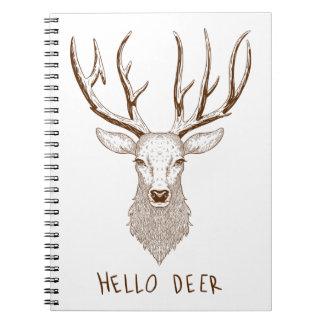 Hello Deer Notebooks