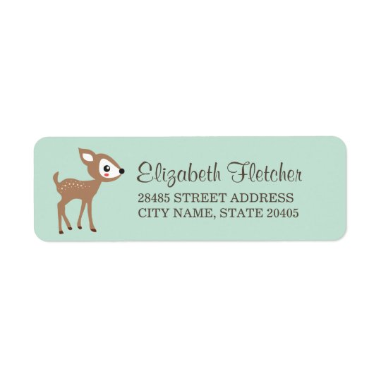 Hello Deer! Return Address Labels