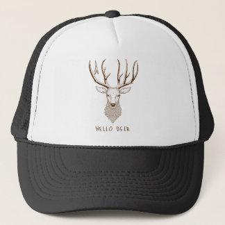 Hello Deer Trucker Hat