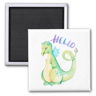 Hello Dinosaur Magnet