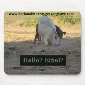 Hello? Ethel? Murray Grey Mousepad