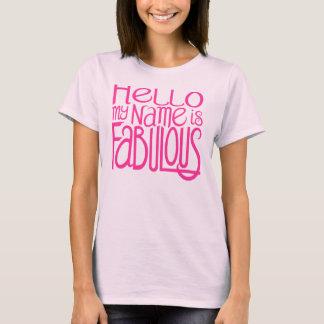 Hello Fabulous Dark T-shirt
