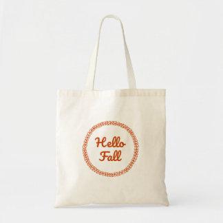 Hello Fall Tote