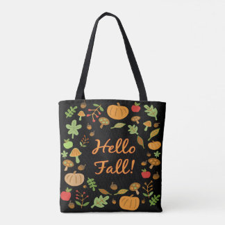 Hello Fall! Tote Bag