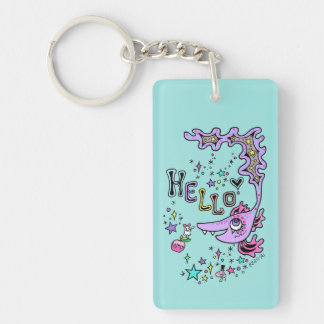 Hello Fish☆1 Keychain