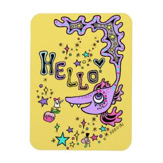 Hello Fish☆1 Rectangular Photo Magnet