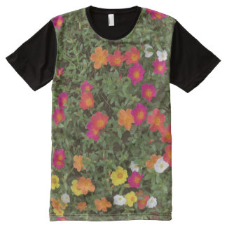 Hello Flowers All-Over-Print T-Shirt